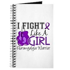 Licensed Fight Like a Girl 15.2 Fibromyalg Journal