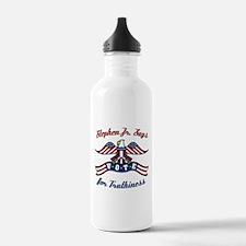 StephenJr Vote Truthi Water Bottle
