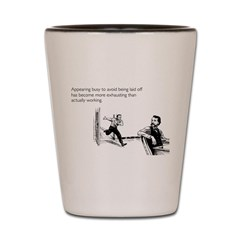 Appearing Busy Shot Glass