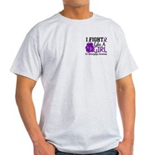 Fight Like A Girl Fibromyalgia T-Shirt