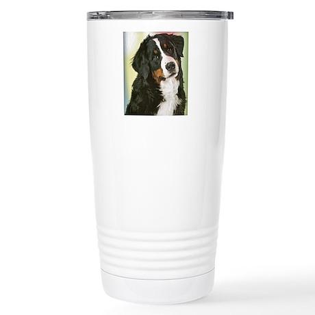 PopArt Puppy Stainless Steel Travel Mug