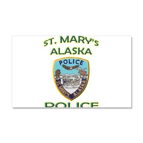 St. Mary's Police Department Car Magnet 12 x 20