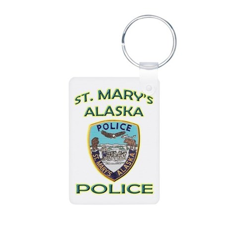 St. Mary's Police Department Aluminum Photo Keycha