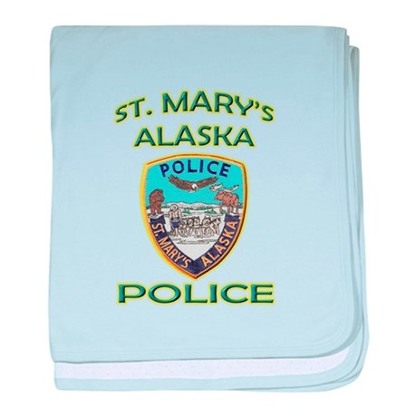 St. Mary's Police Department baby blanket