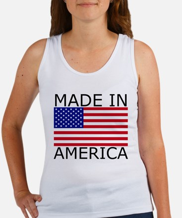 American Flag Women's Tank Top