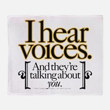Voices Throw Blanket