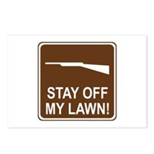 Stay Off My Lawn! Postcards (Package of 8)
