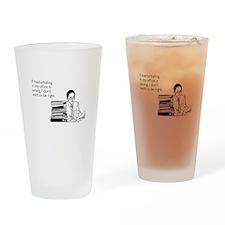 Office Masturbation Pint Glass