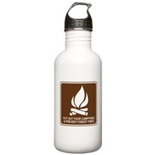 Prevent Forest Fires Water Bottle