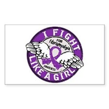 Licensed Fight Like a Girl 16. Decal