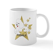 Poodle Stars Small Mug