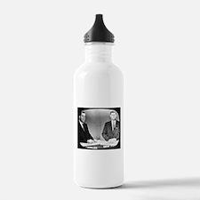 Nixon Vs Kennedy Debate Water Bottle