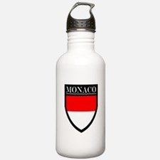 Monaco Flag Patch Water Bottle