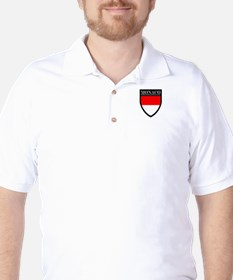 Monaco Flag Patch T-Shirt