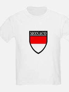 Monaco Flag Patch T-Shirt
