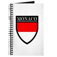 Monaco Flag Patch Journal