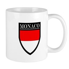 Monaco Flag Patch Mug