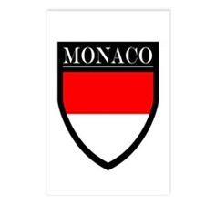 Monaco Flag Patch Postcards (Package of 8)