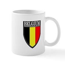 Belgium Flag Patch Mug