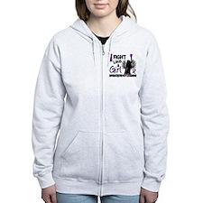 Licensed Fight Like A Girl 26.2 Zip Hoody