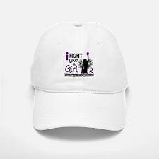 Licensed Fight Like A Girl 26.2 Fibromyalgia Baseball Baseball Cap