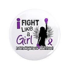Licensed Fight Like A Girl 26.2 Fibromyalgi Button