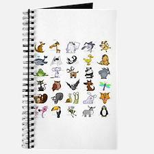 Kid Art Animals Journal