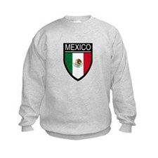Mexico Flag Patch Sweatshirt
