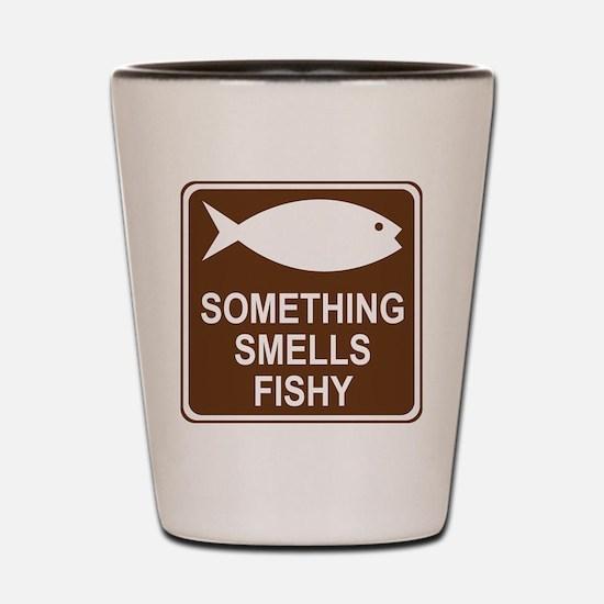 Something Smells Fishy Shot Glass