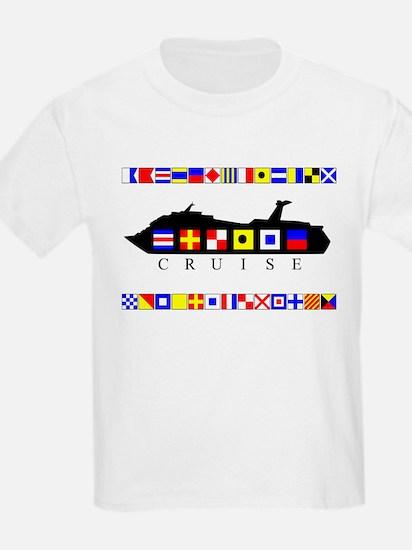 Cruise Signal Flags-b T-Shirt