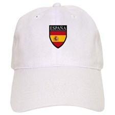 Spain (Espana) Flag Patch Baseball Cap