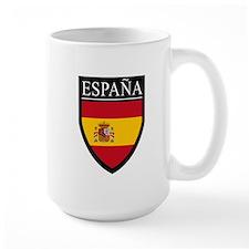 Spain (Espana) Flag Patch Mug