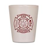 Firefighter Shot Glasses