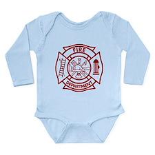 Firefighter Maltese Cross Onesie Romper Suit