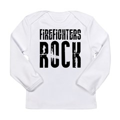 Firefighters Rock Long Sleeve Infant T-Shirt