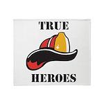 True Heroes Throw Blanket