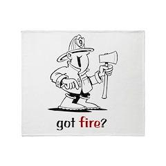 Got Fire? Throw Blanket