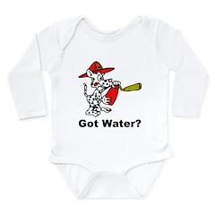 Got Water Long Sleeve Infant Bodysuit