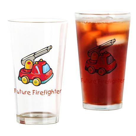 Future Firefighter Pint Glass