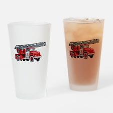 Fire Engine Pint Glass