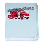 Fire Engine baby blanket