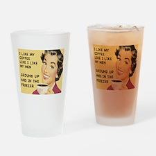 Coffee Like My Men Pint Glass