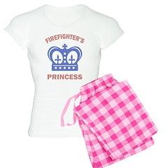 Firefighter's Princess Pajamas
