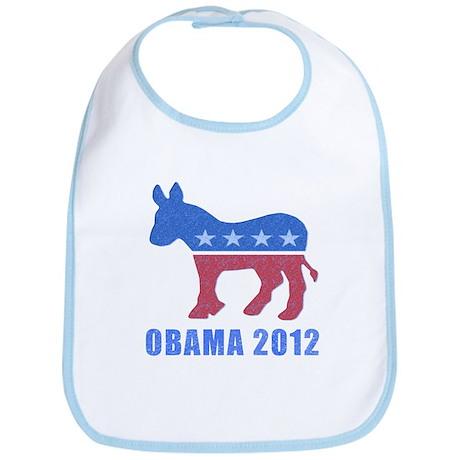 Obama 2012 Baby Bib
