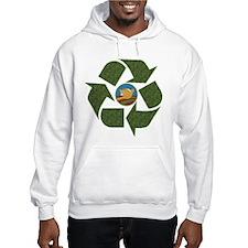 Obama Recycle Logo Hoodie