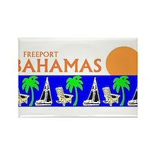 Funny Bahamas Rectangle Magnet