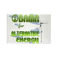 Obama Alternative Energy Rectangle Magnet
