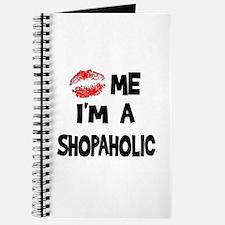 Kiss Me I'm A Shopaholic Journal