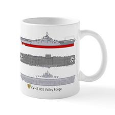 USS Valley Forge CV-45 Mug