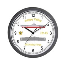 USS Valley Forge CV-45 Wall Clock